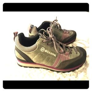 Scarpa Shoes | Euc Margarita Hiking Climbing Approach | Poshmark
